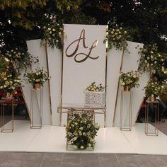Wedding Stage Backdrop, Wedding Backdrop Design, Wedding Stage Design, Wedding Stage Decorations, Engagement Decorations, Backdrop Decorations, Wedding Mandap, Wedding Receptions, Wedding Background