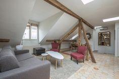 Paris 4e : Dernier étage mansardé dans le Marais - Agence EA Paris