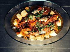 Σκουμπρί/Τομάτα/Πατάτες/Σκόρδο Paella, Cooking, Ethnic Recipes, Food, Kitchen, Eten, Meals, Cuisine, Diet