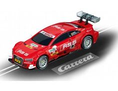 The Carrera Go!!! 1/43 Audi A5 DTM M.Molina No.20, is a superbly detailed race car for use on any 1/43 Carrera Go!!! slot car layout.  The Audi A5 DTM racing car is always a strong contender for victory, whether at the German Touring Car Masters or on a Carrera race circuit.