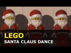 Lego City, Stop Motion, Ronald Mcdonald, Santa, Animation, Character, Animation Movies, Lettering, Motion Design
