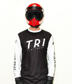 TRI x 250LONDON MOTO JERSEY. Our new collaboration with 250LONDON for our special friend & AMApro flattrack racer Jeffrey Carver from Illinois  is on line! Great for Motocross, BMX, MTB and Flattracking. Get yours: http://www.therealintellectuals.com/…/tri-x-250london-moto-… Photo by Bill Georgoussis #tri #therealintellectuals #250london #jeffreycarver #23 #flattrack #dirttrack #amaproracing #apparel #motorcycles #motolife #motocross #bmx #mx