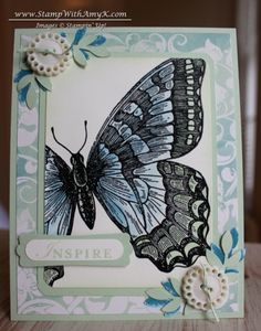 Watercolor Swallowtail by amyk3868 - Cards and Paper Crafts at Splitcoaststampers