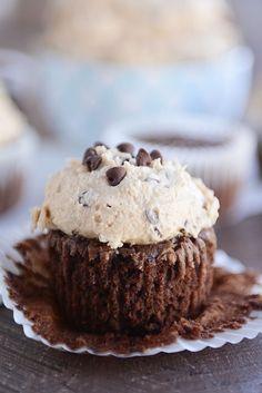 Chocolate Fudge Brownie Cupcakes | Mel's Kitchen Cafe