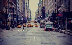 City Street Desktop Background Wallpaper HD 4