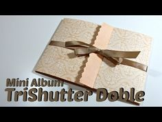 Tutorial tarjeta doble acordeón expandible /double tri shutter card/Cristina Su- Perú - YouTube
