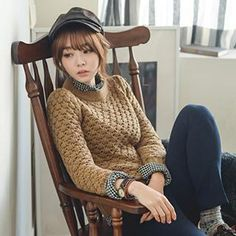 Buy 'Polaris – Cable Knit Sweater' with Free International Shipping at YesStyle.com. Browse and shop for thousands of Asian fashion items from China and more!
