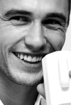 James Franco look at that smile!!!!!!! @Nancy Welch