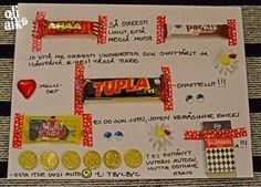 Viikko on niin täynnä kaikenlaista puuhaa ja huomaan, että sopiva sauma tehdä diy-kortti käy vähiin...ideakin hieman hukassa. Onneksi ympäri... Diy And Crafts, Crafts For Kids, Arts And Crafts, Paper Crafts, Diy Gifts, Fathers Day, Origami, Projects To Try, Christmas Gifts