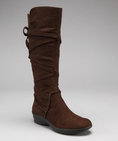 Look at this Softspots Chocolate Jenni Boot on #zulily today!