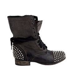 Tarnney - Women's Leather Motorcycle Boots by Steve MaddenTarnney - Women's Leather Motorcycle Boots by Steve Madden