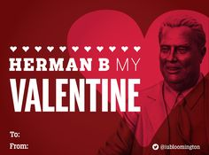We hope you share these IU Valentine's Day cards with the special Hoosiers in your life! (3 of 4) #HoosierValentine