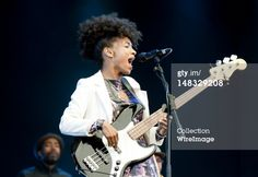 News Photo: Esperanza Spalding performs at the Latitude Festival at…