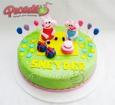 #peppapig #cake #delicioso @MundonickLA @NICKELODEON JUNIOR FRANCE #PEDIDOS: gerencia@pecadito... #TELÉFONOS: 6435035 - 3008950900 – 3105672077 #Whatsapp: 3008950900 #Ponqués #Bucaramanga — at #Cabecera: Cra.35 #54-113.