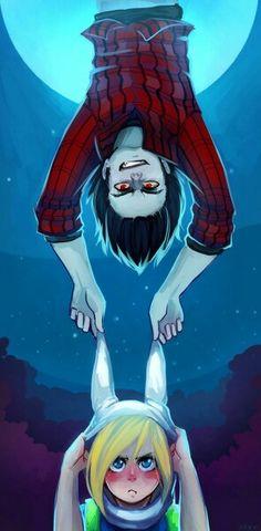 - Adventure Time - Marshall Lee x Fionna Dog Wallpaper, Marceline, Cartoon Shows, Cute Cartoon, Fanart, Cartoon Network, Abenteuerzeit Mit Finn Und Jake, Manga, Finn The Human