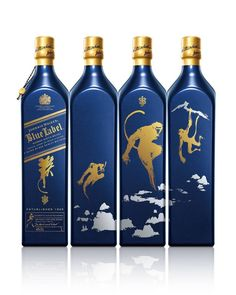 Celebrate this Lunar New Year with a gift that's rarer than rare: our Johnnie Walker Blue Label Special Release: Year of the Monkey. #Joyofgiving