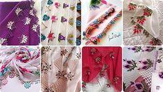 2019 En Güzel Çeyizlik İğne Oyaları Bakmadan Geçmeyin Viking Tattoo Design, Viking Tattoos, Crochet Flower Patterns, Crochet Flowers, Knitted Shawls, Knitted Poncho, Moda Emo, Sunflower Tattoo Design, Thread Painting