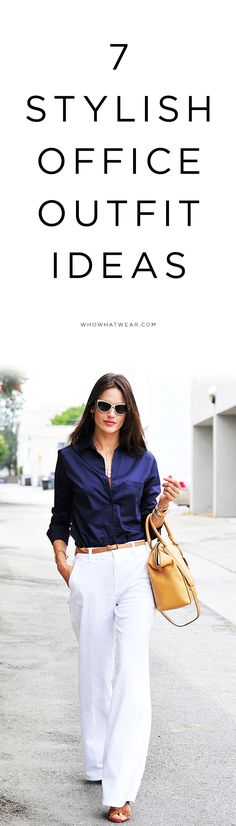 7 stylish office outfit ideas