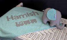 Blue and greyaqua baby by Boy First Birthday, Baby Nursery Decor, Softies, Baby Names, First Birthdays, Baby Gifts, Aqua, Stripes, Blanket