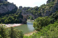 Las Gargantas del Ardèche en Francia