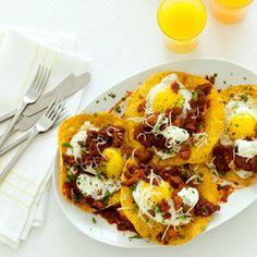 Ranch-Style Eggs with Chorizo | MyRecipes.comThis is a very good sausage & I don't care for sausage too much,must try to believe:)