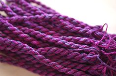 Silk 'n Colors - The Lavenders SNC 004. Made by TheThreadGatherer. Silk Embroidery Floss.Hand Dyed Floss. Cross Stitch Thread. Needlepoint.