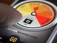 Beautiful Sexymeter found on Dribbble.