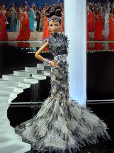 Neat dress. Ninimomo Miss Greece 2011 ooak barbie
