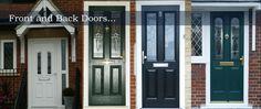 Front and back door installation Surrey