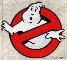 écusson brodé patche Ghostbuster Ghostbusters thermocollant / patch 378