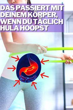 Hula Hoop hat viele interessante Eigenschaften, doch dass es auch das kann, hätten wir nie gedacht... #hullern #hulahoop Hula Hoop Workout, Fitness Workouts, Abs, Beauty, Bed Workout, Fluidity Workout, Strength Training Women, Gym Workouts Women, Slim Waist Workout