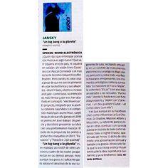 Atención al final de esta columna de Rockdelux: grandes Eduard Escoffet & Bradien, me apunto! ;))