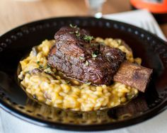 Pumpkin-Pumpkin Beer Risotto with Coffee & Chocolate Stout-Glazed Short Ribs   Tasty Kitchen: A Happy Recipe Community!