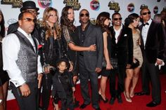 NEW EDITION MEMBERS AND THEIR WIVES