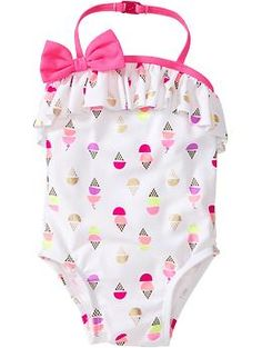 Ice Cream-Print Swimsuits for Baby | Old Navy