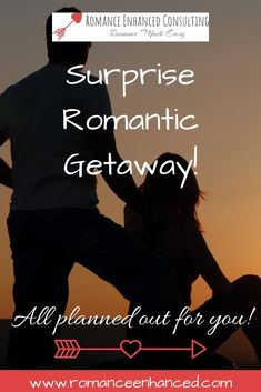 Get Your Dream Romantic Surprise Getaway All Planned and booked by a Romance Coach! Tell the romance coach where you want to go and your budget and she will do the rest with amazing romantic surprises for you and your sweetheart! #romanticgetaway #romanticgetawayplan #romanticweekendideas #getawaytogether #surprisegetaway #romanticgetawaytips #romanticvacation #romanticvacationideas Romantic Anniversary, Anniversary Dates, Romantic Weekend Getaways, Romantic Vacations, Romantic Surprise, Dreaming Of You, You Got This, Rest, Budget
