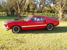 1969 Ford Mustang Mach 1 Cobra Jet $65,000 (Right Hand Drive)
