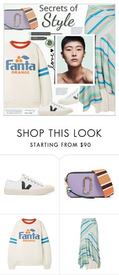 """""""Style - Polyvore"""" by alves-nogueira ❤ liked on Polyvore featuring Veja, Marc Jacobs, Arbonne, Peter Pilotto, marcjacobs, fanta and polyvoreeditorial"""