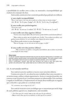 Página 218  Pressione a tecla A para ler o texto da página
