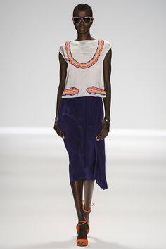 Mara Hoffman Spring/Summer 2014 #marahoffman #nyfw #mbfw #springsummer #fashionweek #catwalk #runway #2014 #ss14 #model #fashionshow #fashion