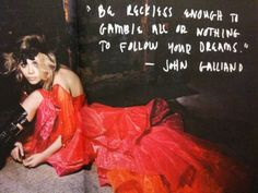John Galliano and Mary Kate Olsen Jhon Galliano, Tattoo Las Vegas, All Things Fabulous, Gambling Quotes, All Or Nothing, Follow You, Positive Life, Inspire Me, Style