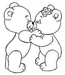 Dibujo De Amor Y Amistad Para Colorear