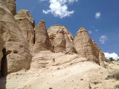 Day trip to Tent Rocks National Monument for some hiking among some fascinating rock formations.