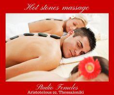 Το Σαββατοκύριακο πλησιάζει...Κάντε δώρο στον εαυτό σας ένα καταπληκτικό Hot Stones Massage για την απόλυτη χαλάρωση και ευεξία! Το αξίζετε! #studiofemeles #aristotelous #thessaloniki  #beautysalon #beauty #greece #arisotelous_square #massage #massagetherapy #hotstonemassage #relaxation #relax