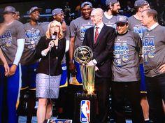 Golden State Warriors 2015 NBA Champions #warriorsground #DubNation