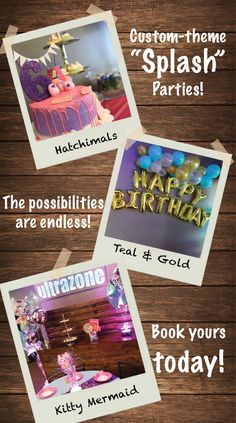Searching For Girls Birthday Party Ideas In Madison WI Give Us A Call