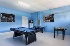 Orlando vacation rental equipped with a game room!