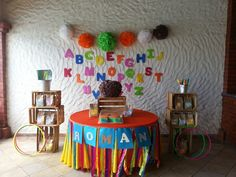 Alphabet birthday party