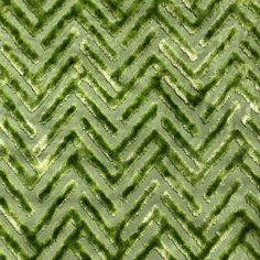 Devious apple green polyester and viscose chevron velvet pattern upholstery fabric Farmhouse Upholstery Fabric, Velvet Upholstery Fabric, Pillow Fabric, Chair Upholstery, Pillows, Chevron Fabric, Green Chevron, Green Fabric, Fabric Swatches
