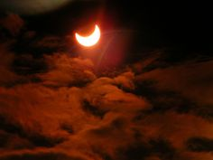 Solar Eclipse on Sunday, May 20th for the lucky folks in parts of Asia and the US... local temperatures can drop 20 degrees or more!